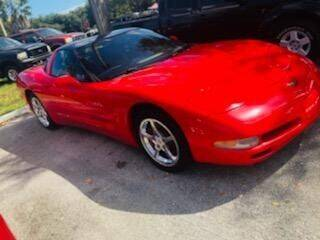 2002 Chevrolet Corvette for sale at DAN'S DEALS ON WHEELS in Davie FL