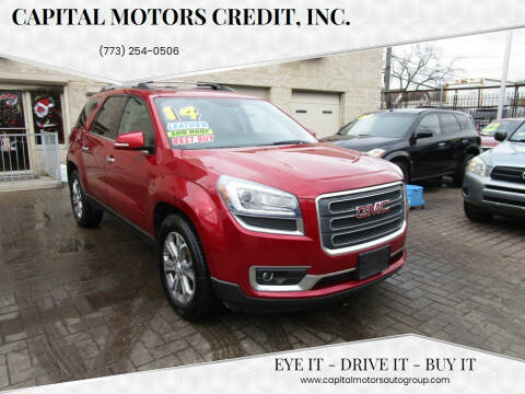 2014 GMC Acadia for sale at Capital Motors Credit, Inc. in Chicago IL