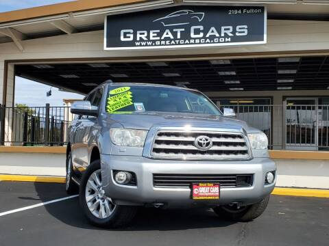 2011 Toyota Sequoia for sale at Great Cars in Sacramento CA