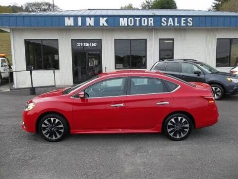 2019 Nissan Sentra for sale at MINK MOTOR SALES INC in Galax VA