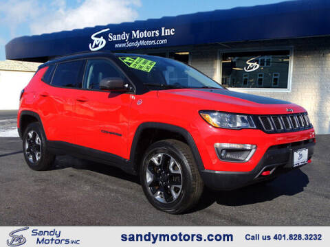2017 Jeep Compass for sale at Sandy Motors Inc in Coventry RI