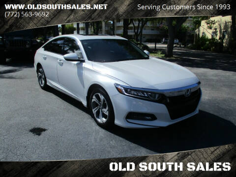 2019 Honda Accord for sale at OLD SOUTH SALES in Vero Beach FL