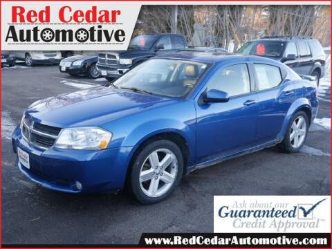 2010 Dodge Avenger for sale at Red Cedar Automotive in Menomonie WI