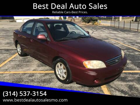 2003 Kia Spectra for sale at Best Deal Auto Sales in Saint Charles MO