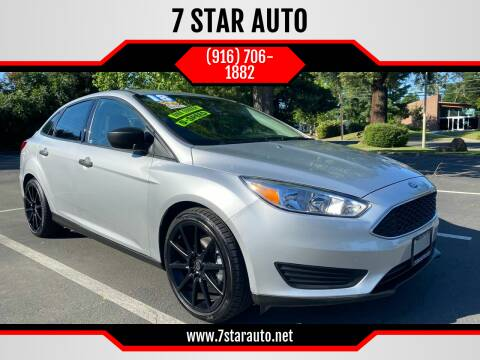 2018 Ford Focus for sale at 7 STAR AUTO in Sacramento CA