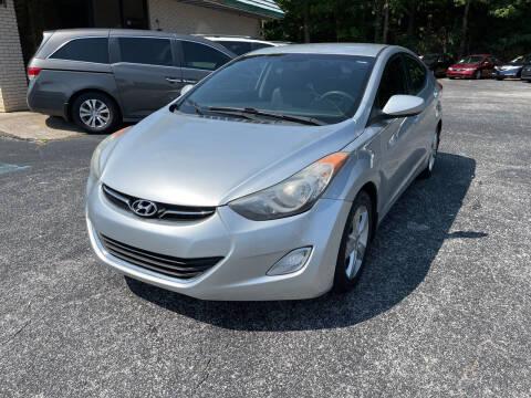 2013 Hyundai Elantra for sale at Diana Rico LLC in Dalton GA