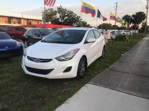 2012 Hyundai Elantra for sale at Mendz Auto in Orlando FL