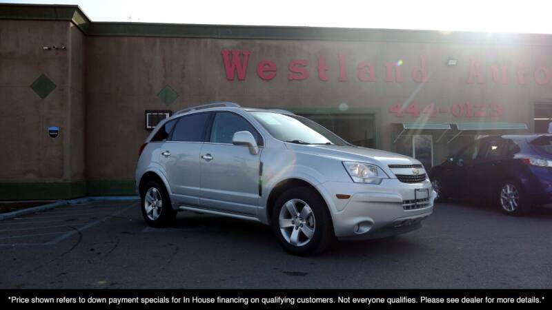 2012 Chevrolet Captiva Sport for sale at Westland Auto Sales in Fresno CA