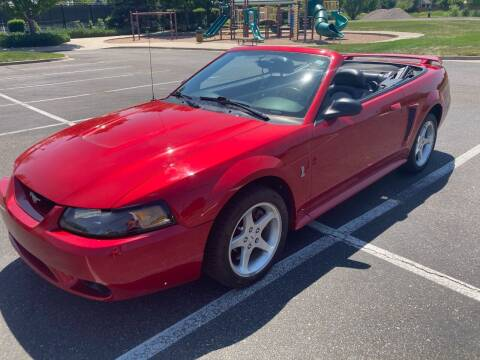 2001 Ford Mustang SVT Cobra for sale at The Car Guy in Glendale CO