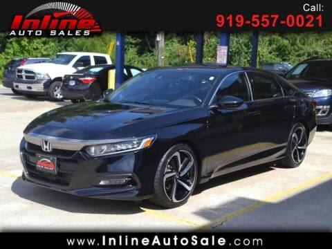 2018 Honda Accord for sale at Inline Auto Sales in Fuquay Varina NC
