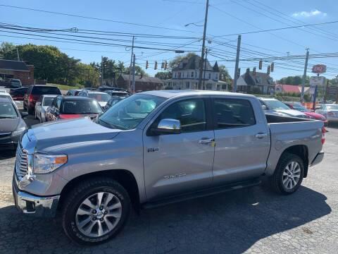 2015 Toyota Tundra for sale at Masic Motors, Inc. in Harrisburg PA