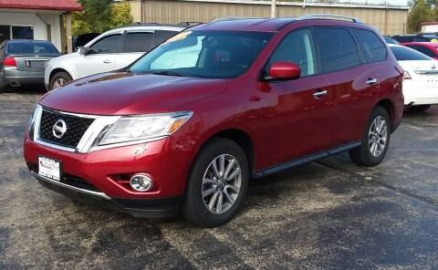 2015 Nissan Pathfinder for sale at Smart Buy Auto in Bradley IL
