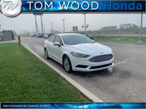 2017 Ford Fusion for sale at Tom Wood Honda in Anderson IN