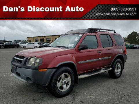 2004 Nissan Xterra for sale at Dan's Discount Auto in Gaston SC