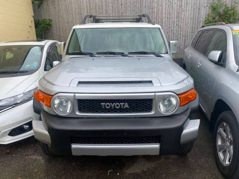 2007 Toyota FJ Cruiser for sale at Polonia Auto Sales and Service in Hyde Park MA