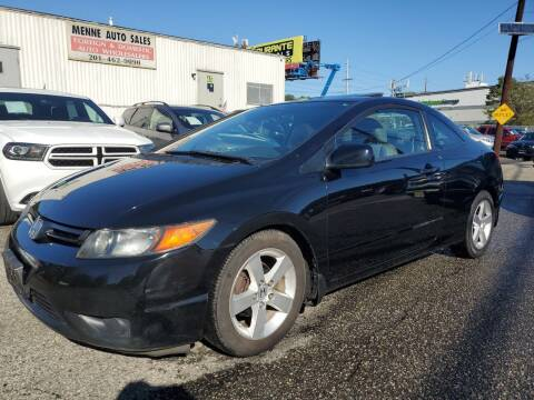 2008 Honda Civic for sale at MENNE AUTO SALES in Hasbrouck Heights NJ