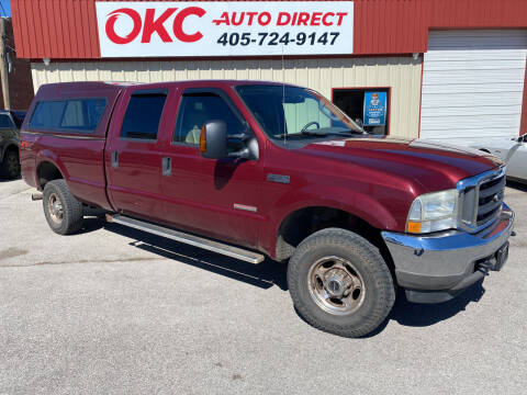 2004 Ford F-350 Super Duty for sale at OKC Auto Direct in Oklahoma City OK