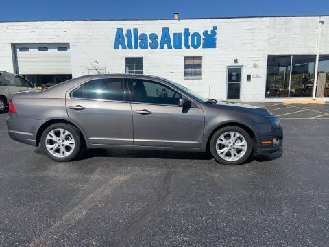 2012 Ford Fusion for sale at Atlas Auto in Rochelle IL