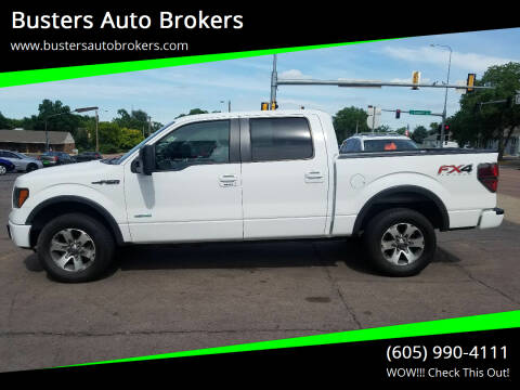 2012 Ford F-150 for sale at Busters Auto Brokers in Mitchell SD
