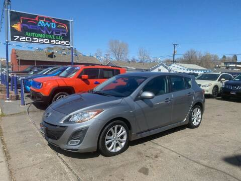 2011 Mazda MAZDA3 for sale at AWD Denver Automotive LLC in Englewood CO