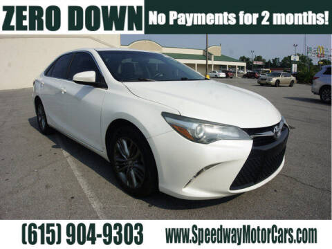 2016 Toyota Camry for sale at Speedway Motors in Murfreesboro TN