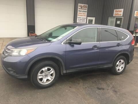 2014 Honda CR-V for sale at Hoss Sage City Motors, Inc in Monticello IL