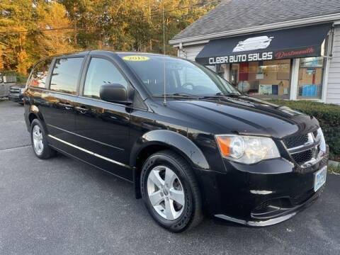 2013 Dodge Grand Caravan for sale at Clear Auto Sales in Dartmouth MA