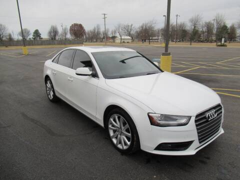 2013 Audi A4 for sale at Just Drive Auto in Springdale AR
