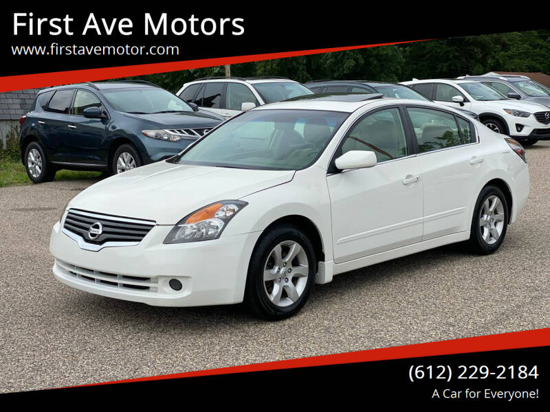 2009 Nissan Altima for sale at First Ave Motors in Shakopee MN