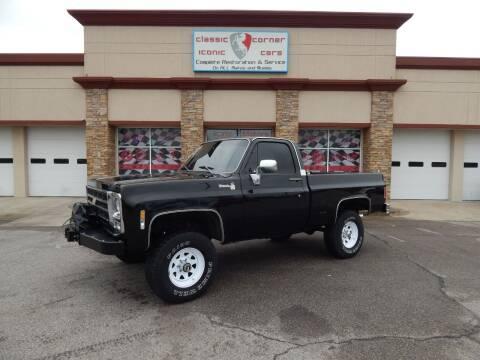 1979 Chevrolet C/K 10 Series for sale at Iconic Motors of Oklahoma City, LLC in Oklahoma City OK