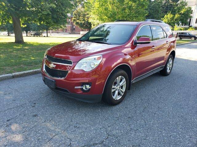 2013 Chevrolet Equinox for sale at NEW ENGLAND AUTO CENTER in Lowell MA