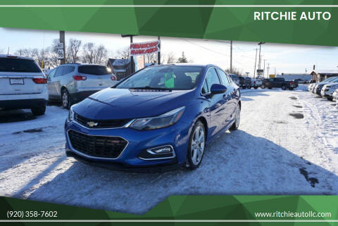2016 Chevrolet Cruze for sale at Ritchie Auto in Appleton WI
