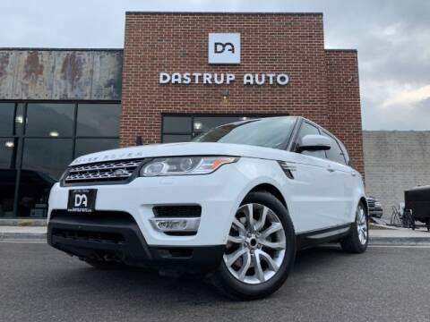 2016 Land Rover Range Rover Sport for sale at Dastrup Auto in Lindon UT