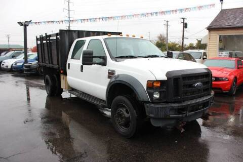 2008 Ford F-450 Super Duty for sale at BANK AUTO SALES in Wayne MI