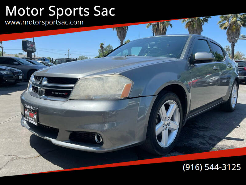 2013 Dodge Avenger for sale at Motor Sports Sac in Sacramento CA