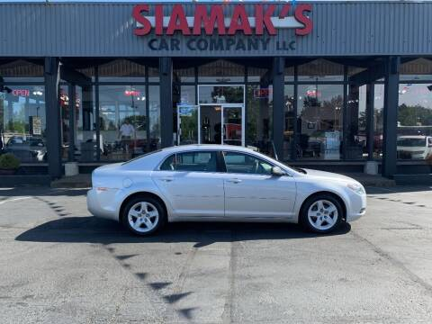 2012 Chevrolet Malibu for sale at Siamak's Car Company llc in Salem OR