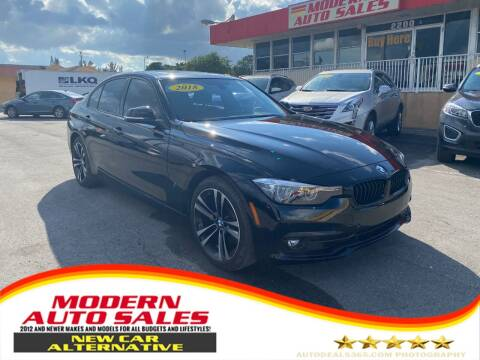 2018 BMW 3 Series for sale at Modern Auto Sales in Hollywood FL