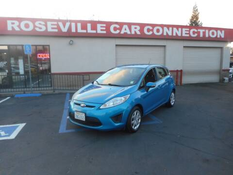 2013 Ford Fiesta for sale at ROSEVILLE CAR CONNECTION in Roseville CA