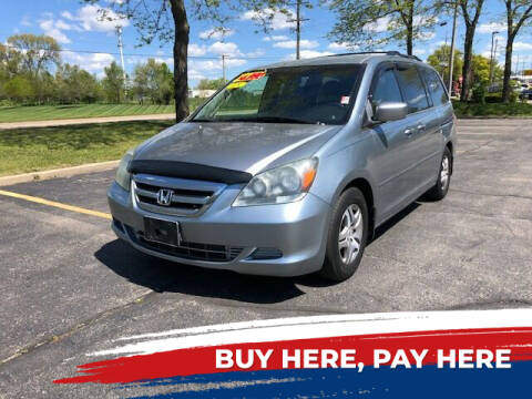 2005 Honda Odyssey for sale at Stryker Auto Sales in South Elgin IL