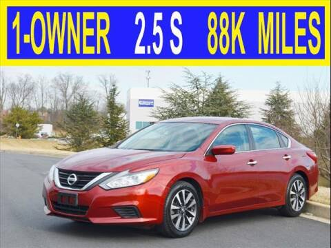2016 Nissan Altima for sale at Elite Motors INC in Joppa MD