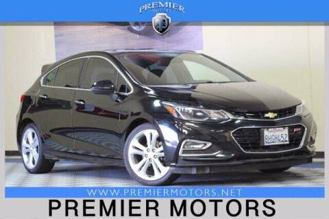 2017 Chevrolet Cruze for sale at Premier Motors in Hayward CA