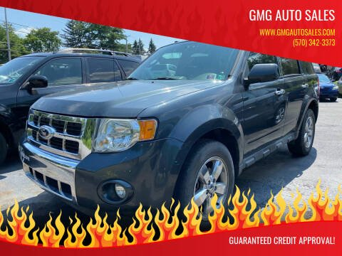 2009 Ford Escape for sale at GMG AUTO SALES in Scranton PA