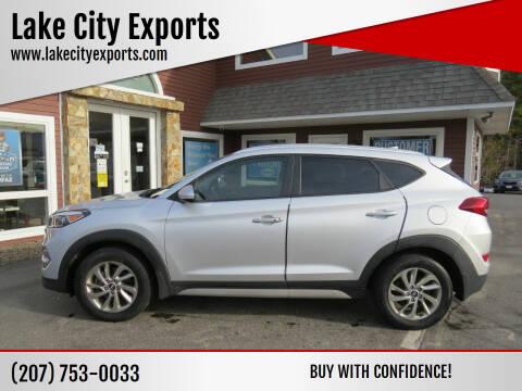 2017 Hyundai Tucson for sale at Lake City Exports in Auburn ME
