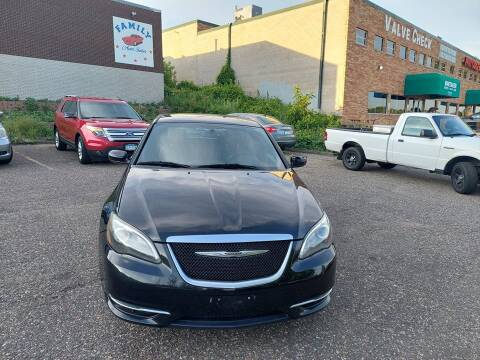 2014 Chrysler 200 for sale at Family Auto Sales in Maplewood MN