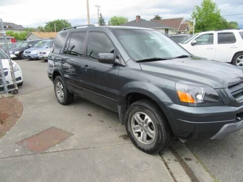 2004 Honda Pilot for sale at Car Link Auto Sales LLC in Marysville WA