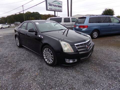 2011 Cadillac CTS for sale at J & D Auto Sales in Dalton GA