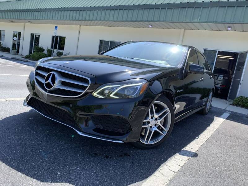 2014 Mercedes-Benz E-Class for sale at Fisher Motor Group LLC in Bradenton FL