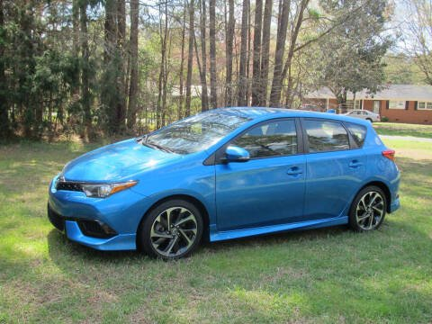 2017 Toyota Corolla iM for sale at White Cross Auto Sales in Chapel Hill NC