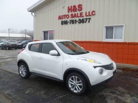 2014 Nissan JUKE for sale at H & S Auto Sale LLC in Grandview MO