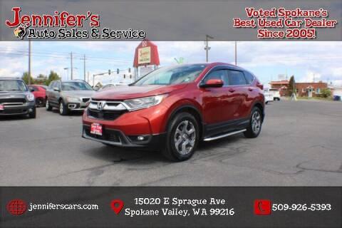 2018 Honda CR-V for sale at Jennifer's Auto Sales in Spokane Valley WA